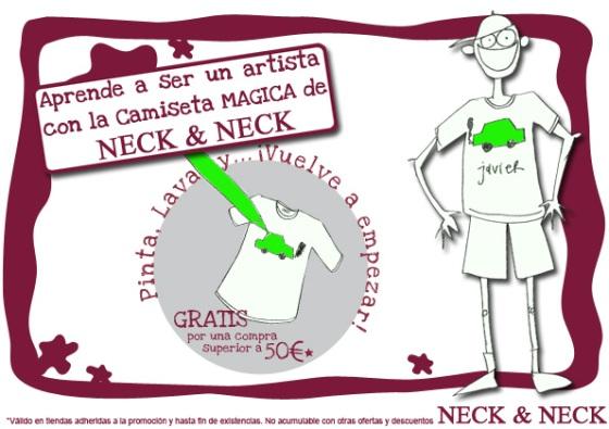 ¡Consigue ya la camiseta mágica!